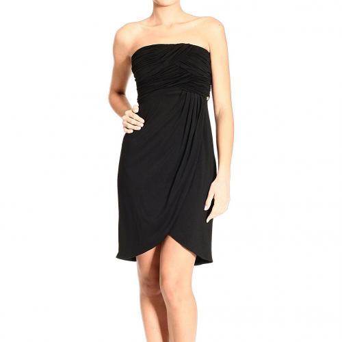 Roberto Cavalli Jersey drapes strapless dress