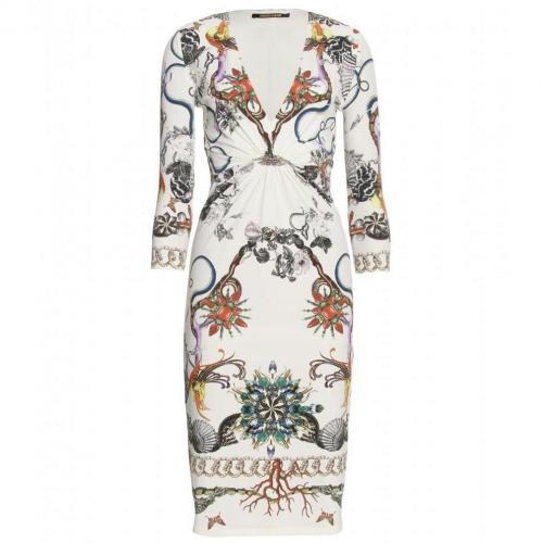 Roberto Cavalli Thalassa Print-Kleid