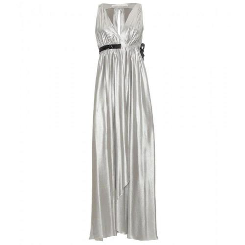 Schumacher Langes Metallic-Kleid Glam