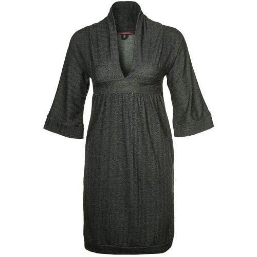 Skunkfunk Kimono Jerseykleid black
