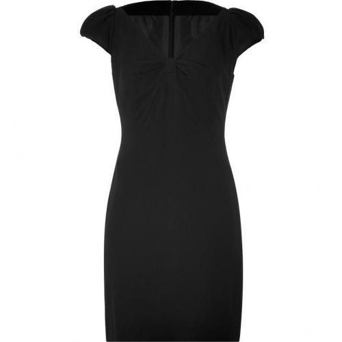Steffen Schraut Black Cap Sleeve Dress