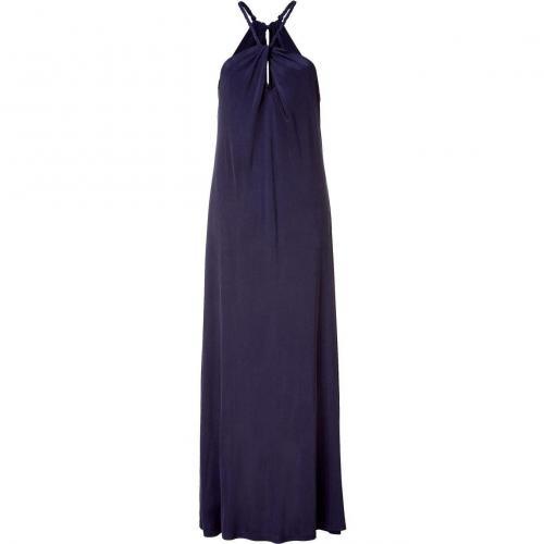 Tara Jarmon Nightblue Neck Holder Maxi Dress