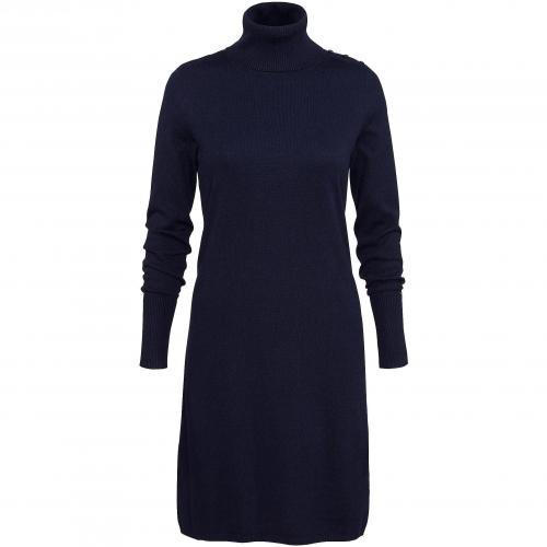 Tommy Hilfiger Kleid Coleen mit Rollkragen blau
