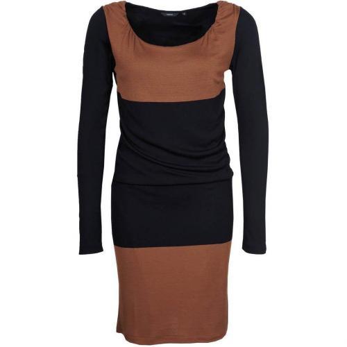 Turnover Jerseykleid black