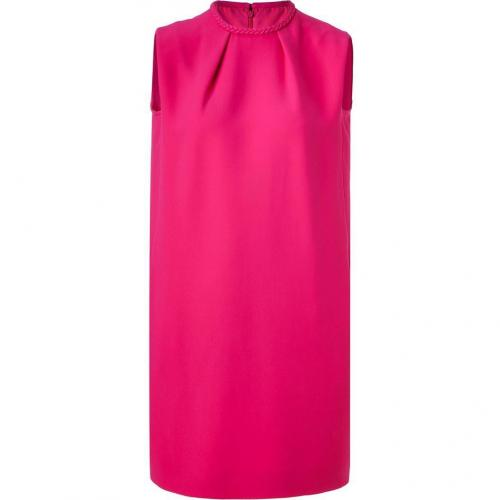 Valentino Fuchsia Silk Dress