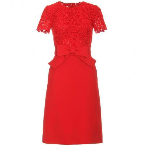 Valentino Kleid Aus Makraméspitze