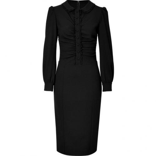 Valentino R.E.D. Black Lace Trimmed Dress