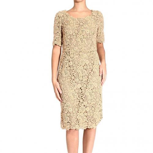 Valentino Short sleeve lace dress