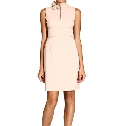 Valentino Sleeveless bow neck dress