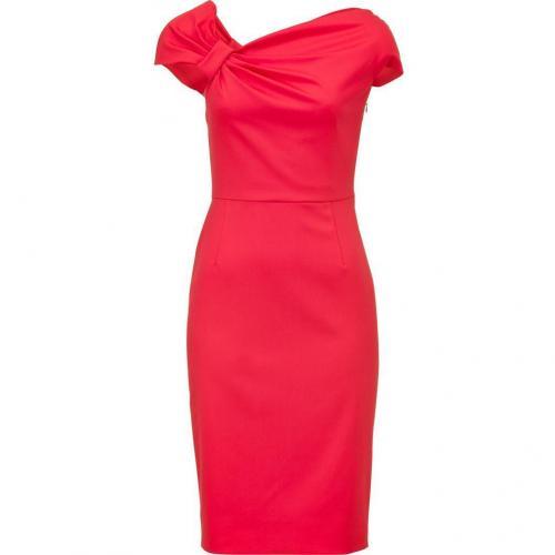 Valentino Tropical Flamingo Techno Couture Dress