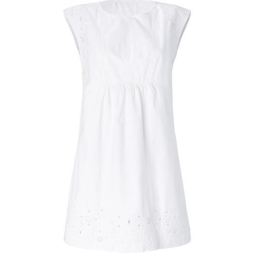 Vanessa Bruno White Embroidered Dress