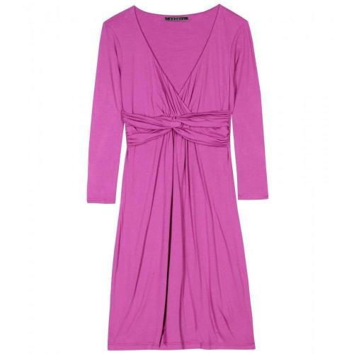 Velvet Darrin Jerseykleid Mit Knotendetail