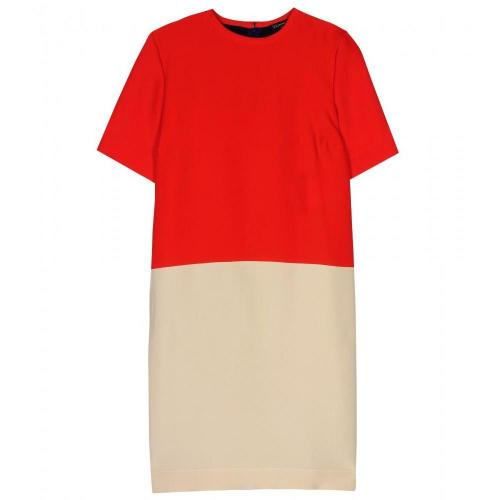 Vionnet Color-Blocking Kleid