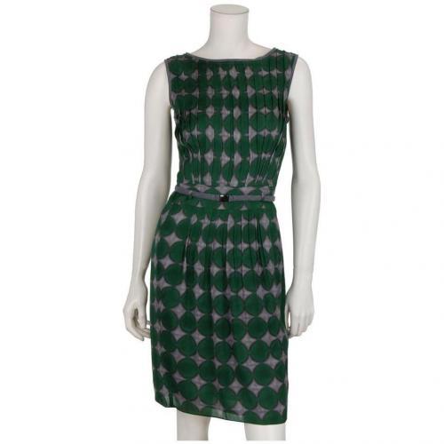 Windsor Seidenkleid Grün