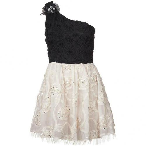 Yumi Indra Cocktailkleid / festliches Kleid black/cream