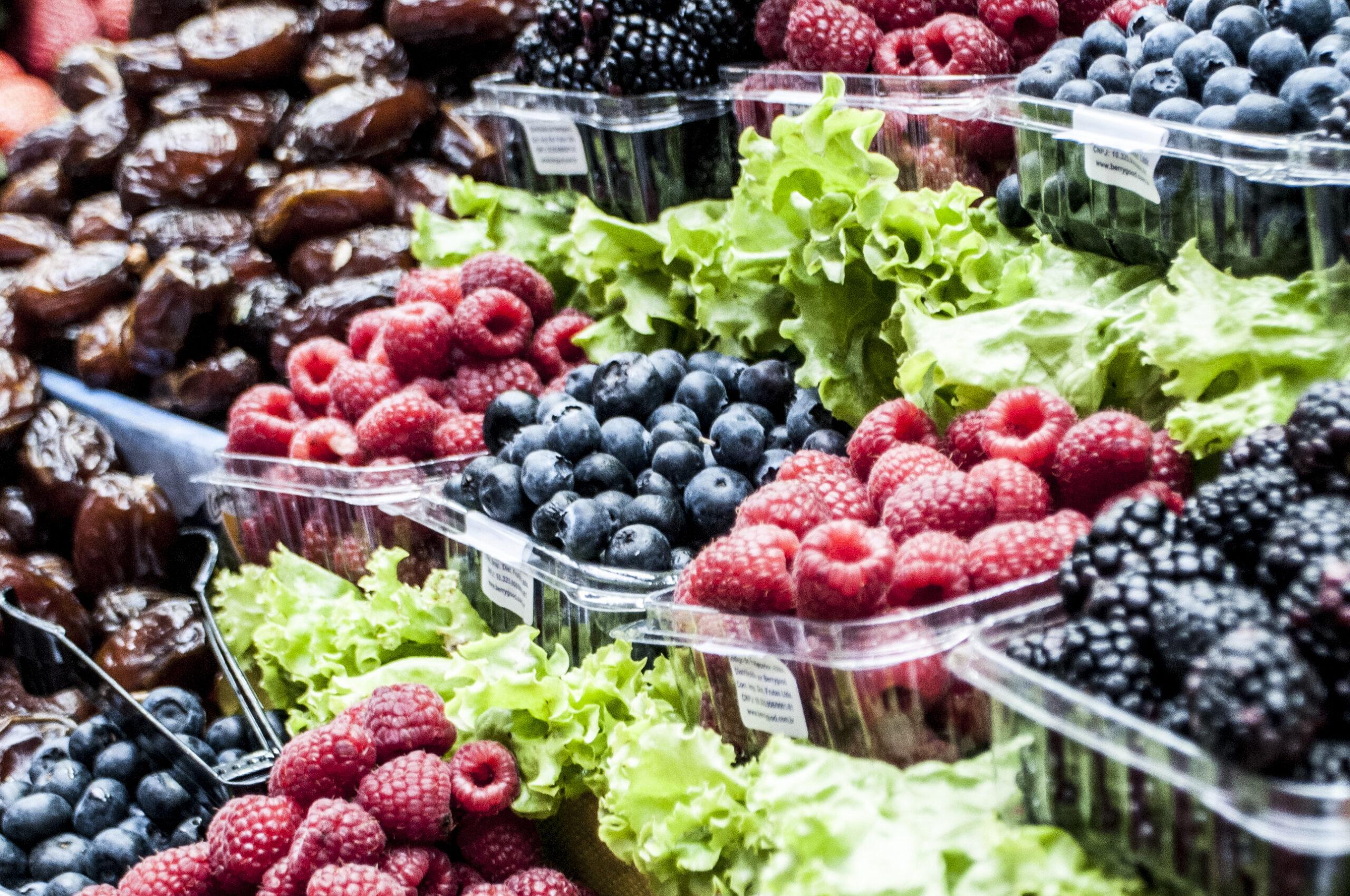 blackberries raspberries blueberries