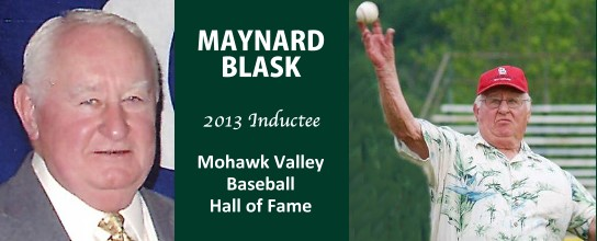 Maynard Blask inducted into Mohawk Valley Hall Of Fame
