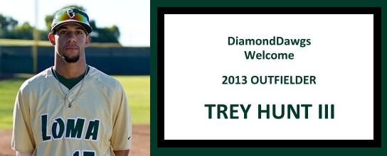 DiamondDawg Insider – Trey Hunt – 2013 Outfielder