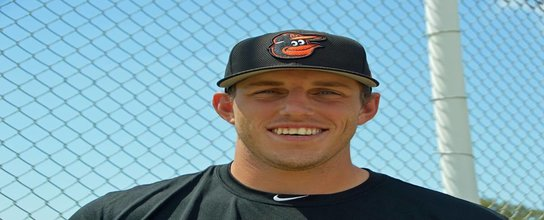 "Former DiamondDawg called up to the ""show"" with the Baltimore Orioles'"