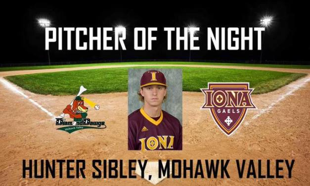Hunter Sibley – PGCBL Pitcher of the Night