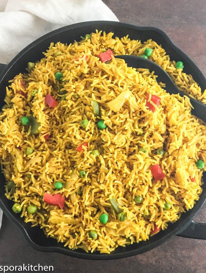 Turmeric Rice Skillet