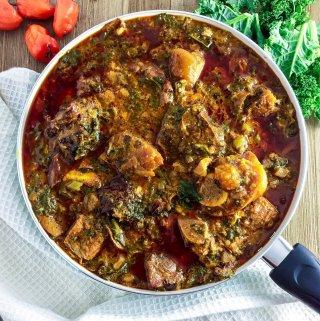 Ogbono Soup ( Ofe Ogbono)