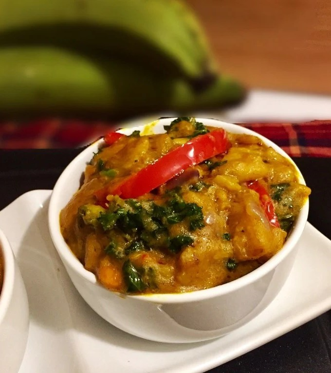 Unripe Plantain Porridge