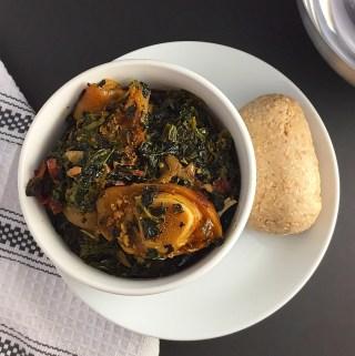 Edika ikong Soup ( A Nigerian Vegetable Soup)