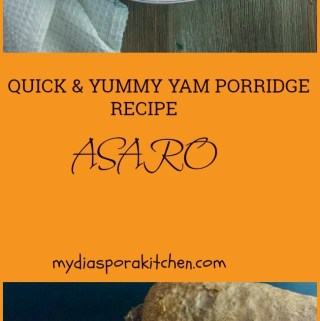 quick and yummy yam porridge recipe