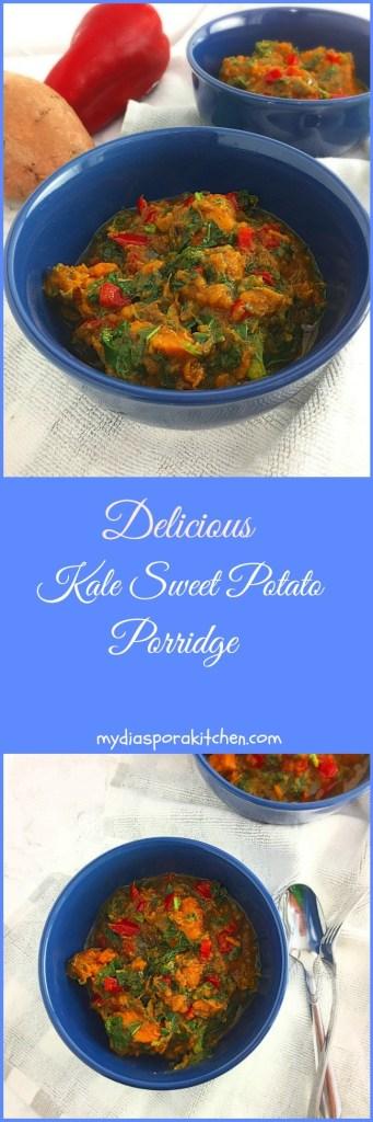 Delicious Kale Sweet Potato Porridge