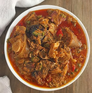 Nigerian Emergency Soup