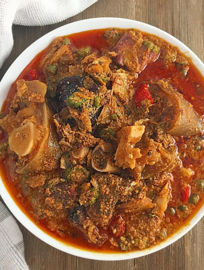 Nigerian Emergency Soup