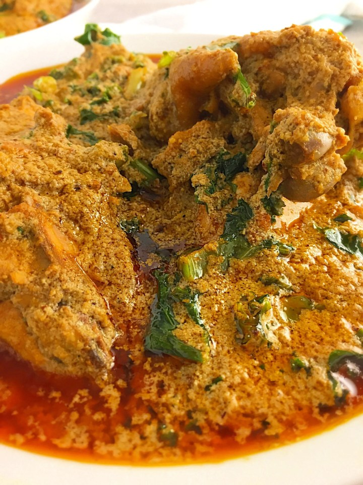 Pepper Soup Spice infused Egusi Soup