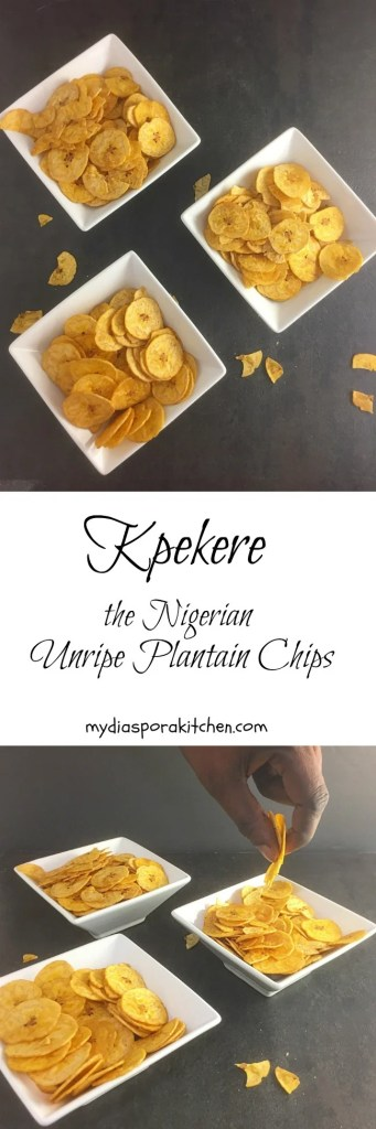 Pekere Nigerian Unripe Plantain Chips My Diaspora Kitchen
