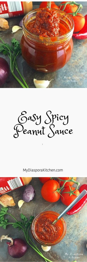 easy spicy peanut sauce