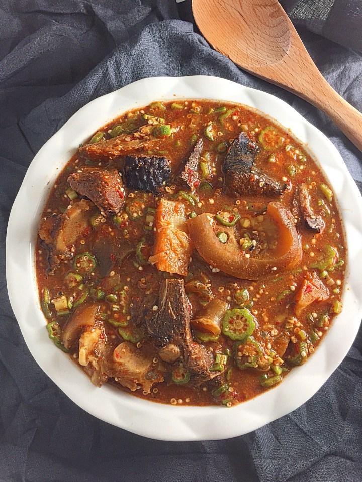 Easy Nigerian Okro Soup