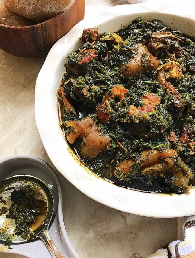 Nigerian Afang Soup | Our South-Southern Delicacy