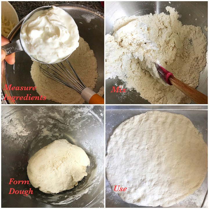 The Versatile two ingredients dough