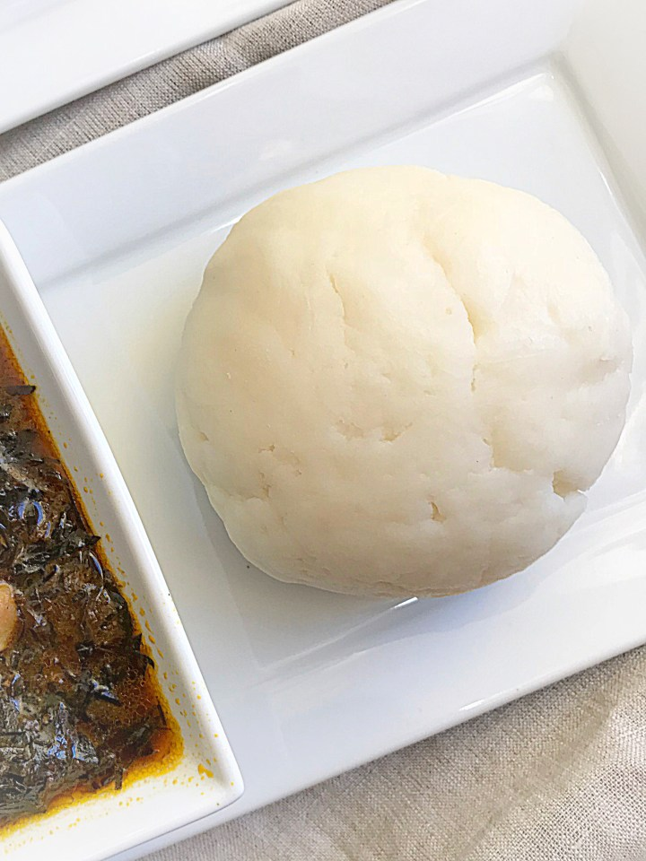 microwave pounded yam