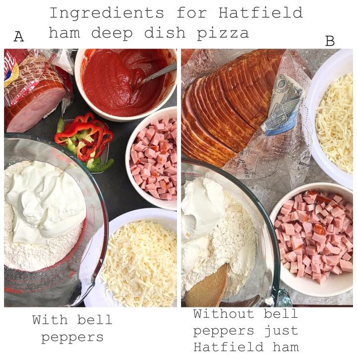 Hatfield Ham Deep Dish Pizza