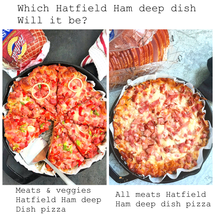 Hatfield Ham Deep Dish Pizza