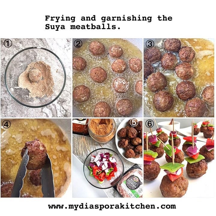 Suya Meatballs
