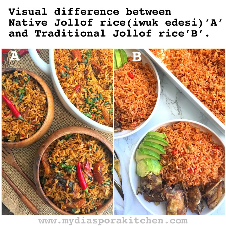 Native jollof rice