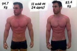 Πείραμα για τις Δίαιτες Εξπρές - Έχασε 11 κιλά σε 24 ώρες!