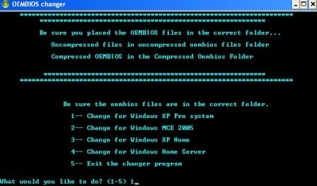Convert Windows XP to OEM Channel