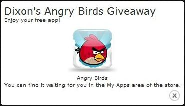 Free Angry Birds for Windows