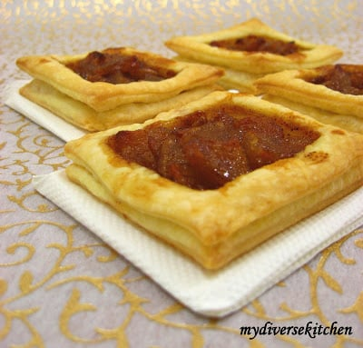 Apple Tartlets and Rough Puff Pastry Twists