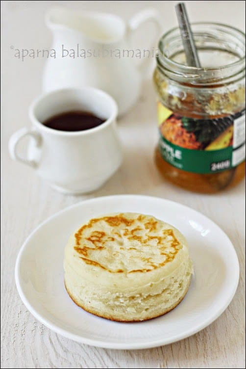 An English Tea-time Favourite – Crumpets