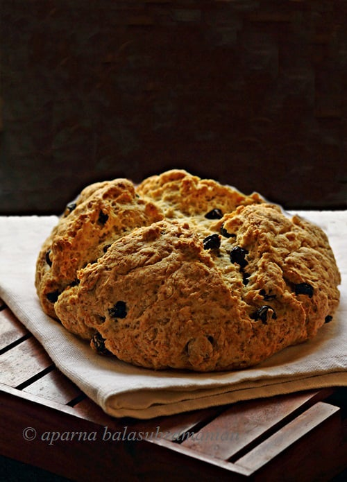 A Spotted Dog – An Almost Real Irish Soda Bread/ Cake