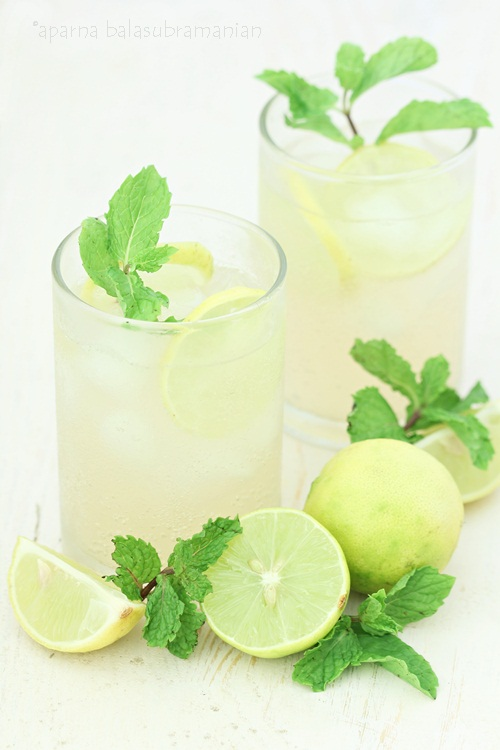An Easy Non-Alcoholic Or Virgin Mojito With Ginger